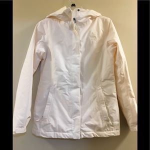 The North Face Ivory HyVent Waterproof Jacket S
